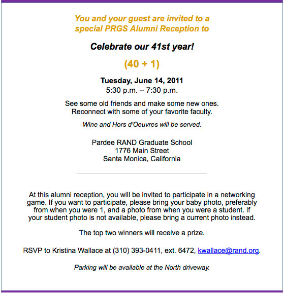 June 14 Alumni Invite