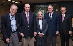 Charles Wolf and four RAND presidents