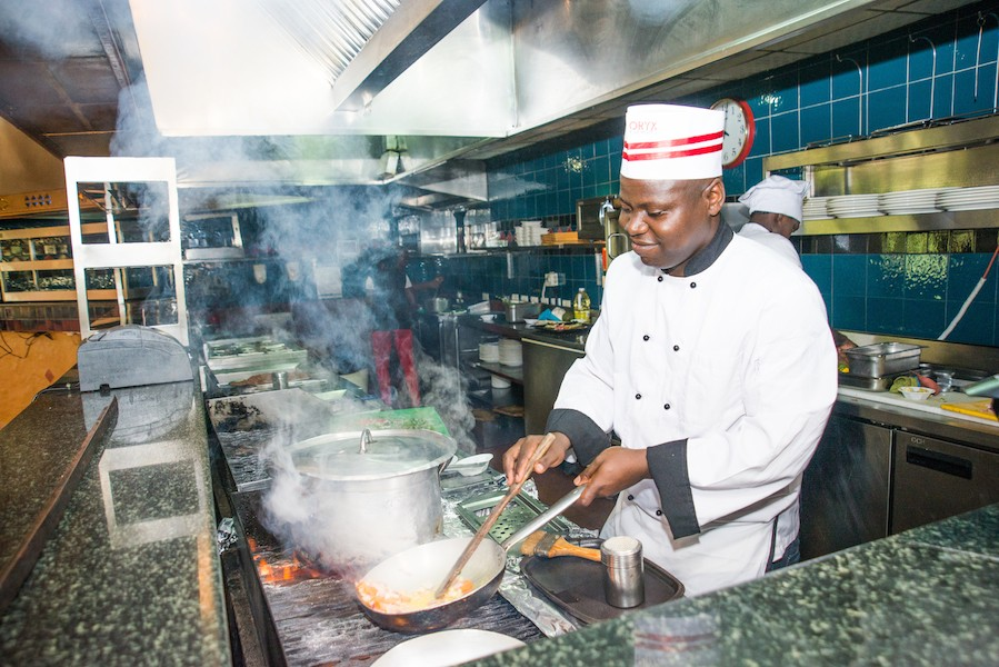 Chef Andrew Alikulya from Catering Solutions East Africa
