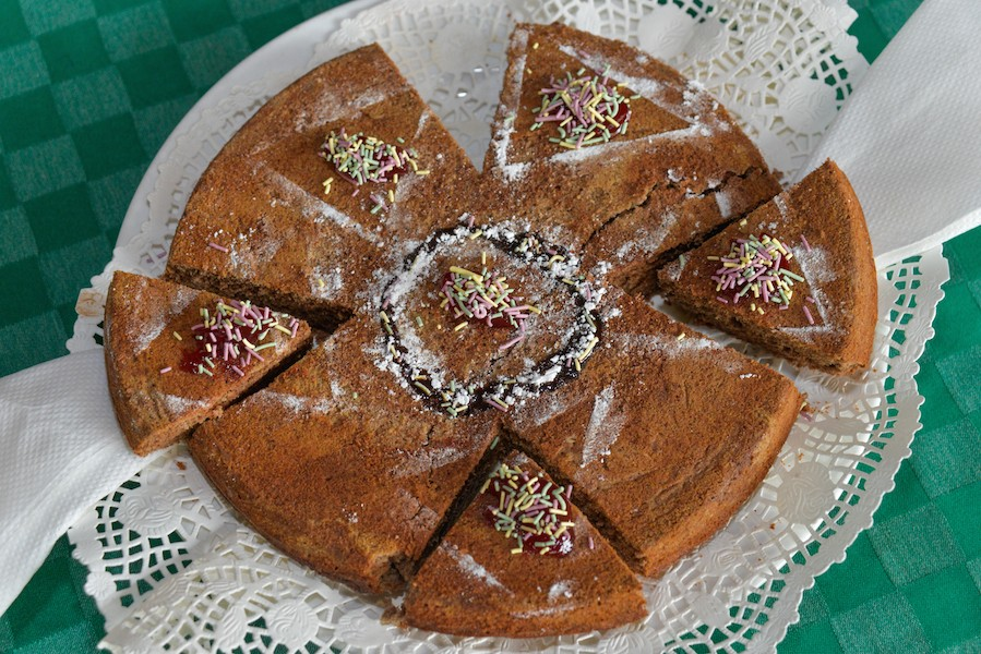 Millet and sorghum cake by youth foodie Proscovia Nakabuusu