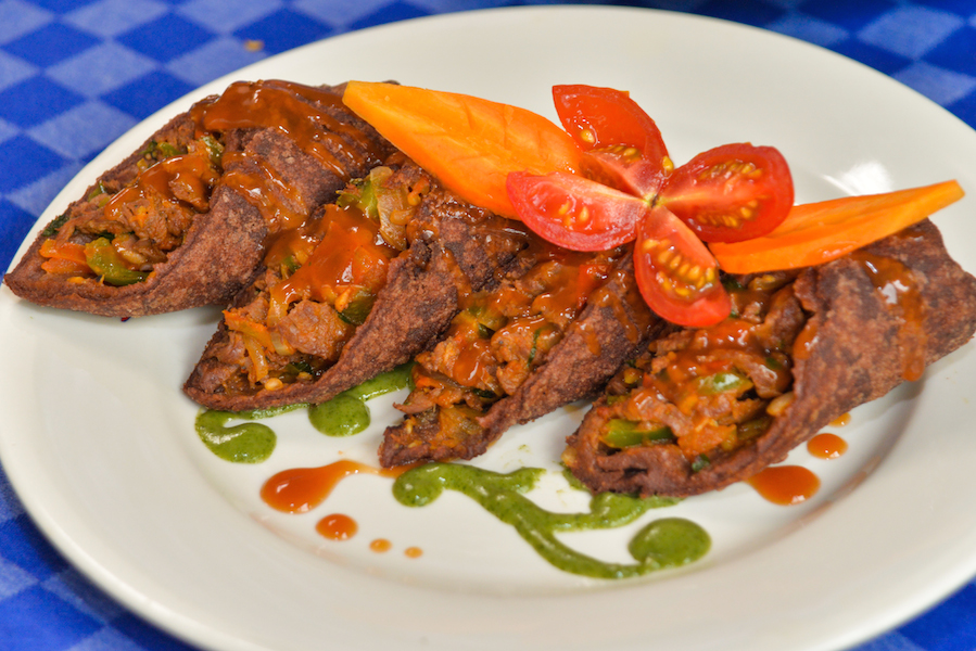 Millet beef wrap by Chef Timothy Wandalu